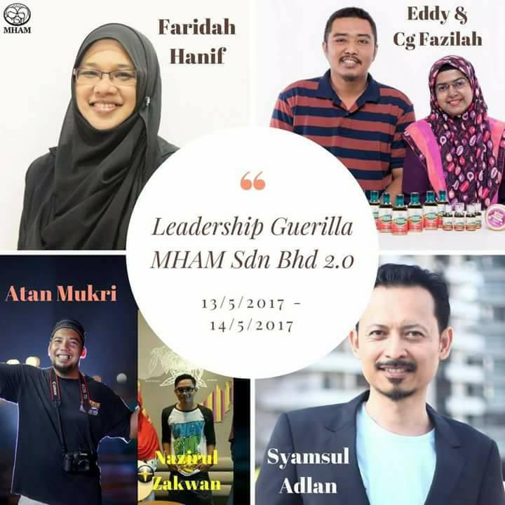 Kursus Leadership Guerilla MHAMSB 2.0