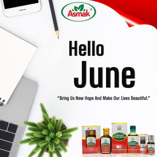 Selamat datang June!